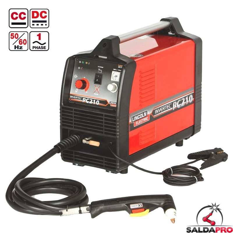 tagliatrice plasma invertec pc-210 lincoln electric 230V