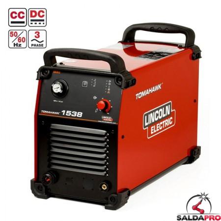 tagliatrice al plasma tomahwk 1538 ad aria compressa lincoln electric 400V