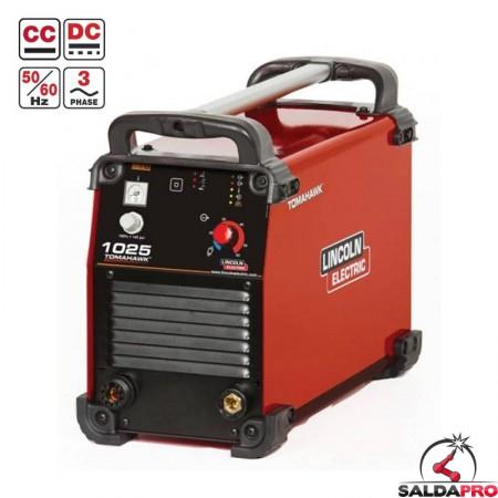 tagliatrice al plasma tomahwk 1025 lincoln electric 400V