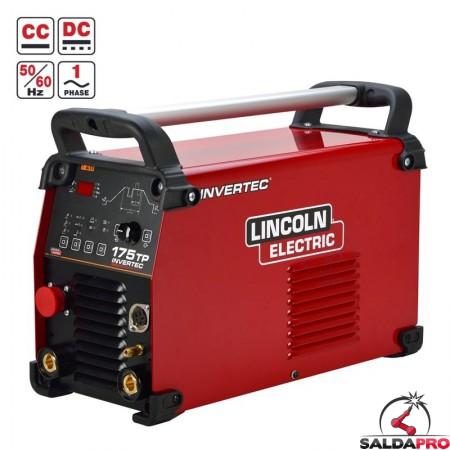 Saldatrice Invertec 175TP Lincoln Electric monofase per la saldatura TIG ed MMA