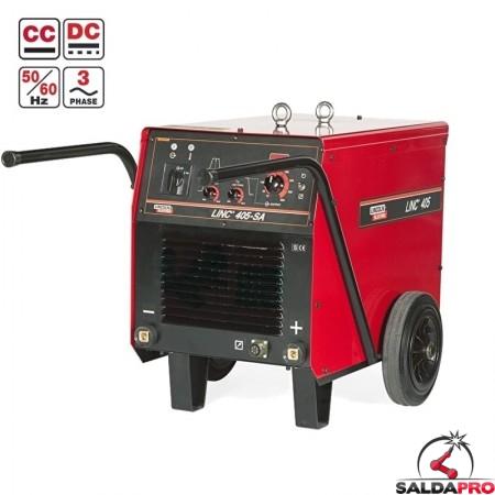 Saldatrice MMA elettrodo Linc 405-SA Lincoln Electric 400A 230/400V