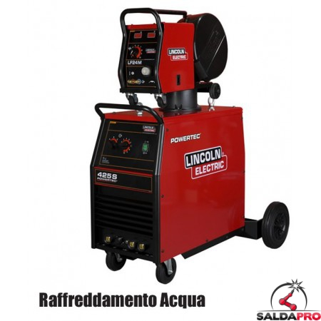 Saldatrice MIG Powertec® 425S 230/400V Raffreddamento ad Acqua in KIT