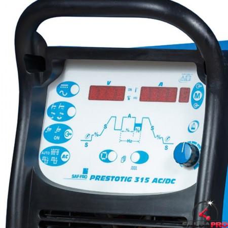 Pannello di controllo saldatrice Prestotig 315 AC/DC