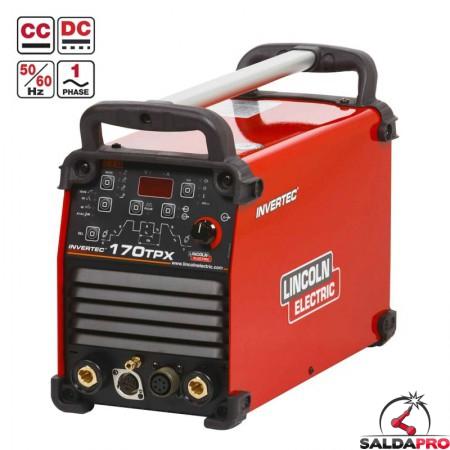 saldatrice Invertec 170TPX Lincoln Electric Saldatura Tig Pulsato elettrodo K12055-1