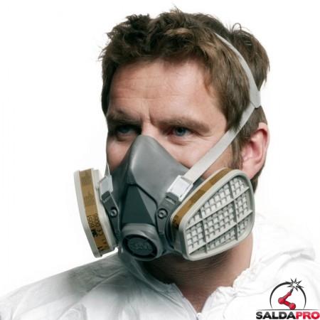 respiratore per gas e vapori 3m