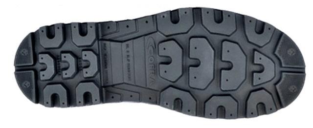 dettaglio suola scarpe antinfortunistiche welder cofra