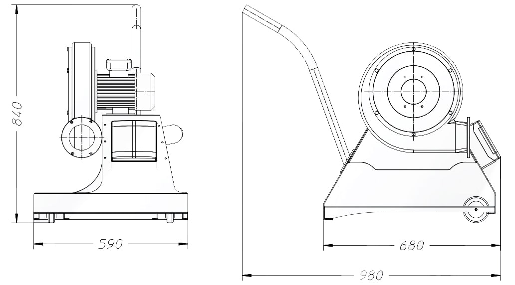 misure aspiratore carrellato mouse 2 dalpitech
