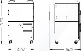 misure depuratore DST 1.8 dalpitech