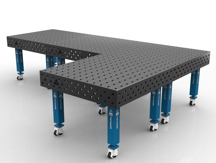 design modulare tavolo saldatura GPPH