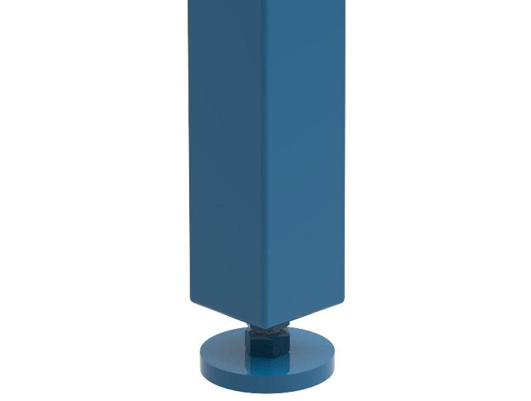 altezza regolabile tavolo saldatura GPPH