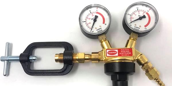 regolatore gas Harris