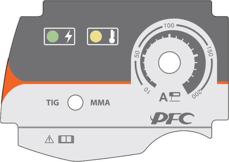 pannello di controllo saldatrice elettrodo ARC180 PFC Jasic