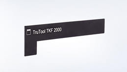 calibro di registrazione bisellatrice trutool tkf 2000 trumpf
