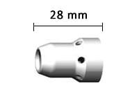 Misure diffusore gas standard ABIMIG ® 645 W