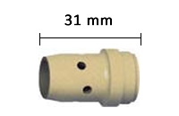 Misure diffusore gas standard ABIMIG ® GRIP W 605 D