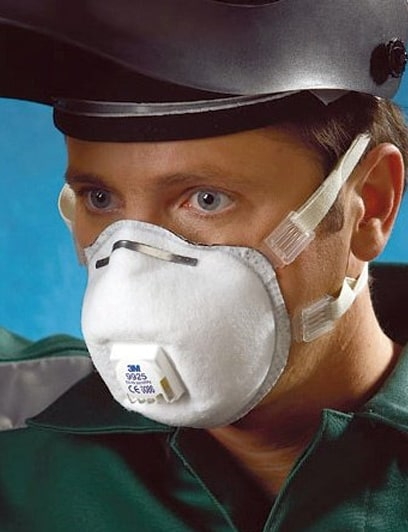maschera monouso 3M 9925 Classe FFP2