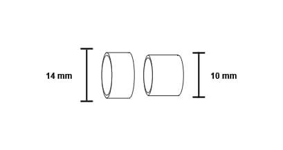 misure anello isolante torcia cwk600 motoman robotics