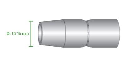 misure ugello gas isolato lancia awk 350  motoman robotics