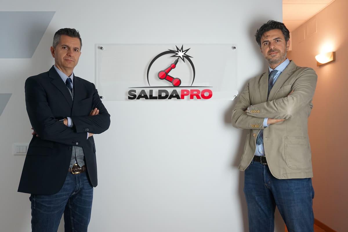 Nicola e Stefano Monsignori di SaldaPro