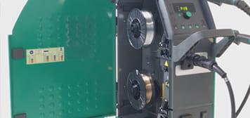 dettaglio tecnologia duo saldatrice automig2 180i migatronic